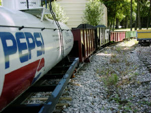 railroad tank car Pepsi Cola